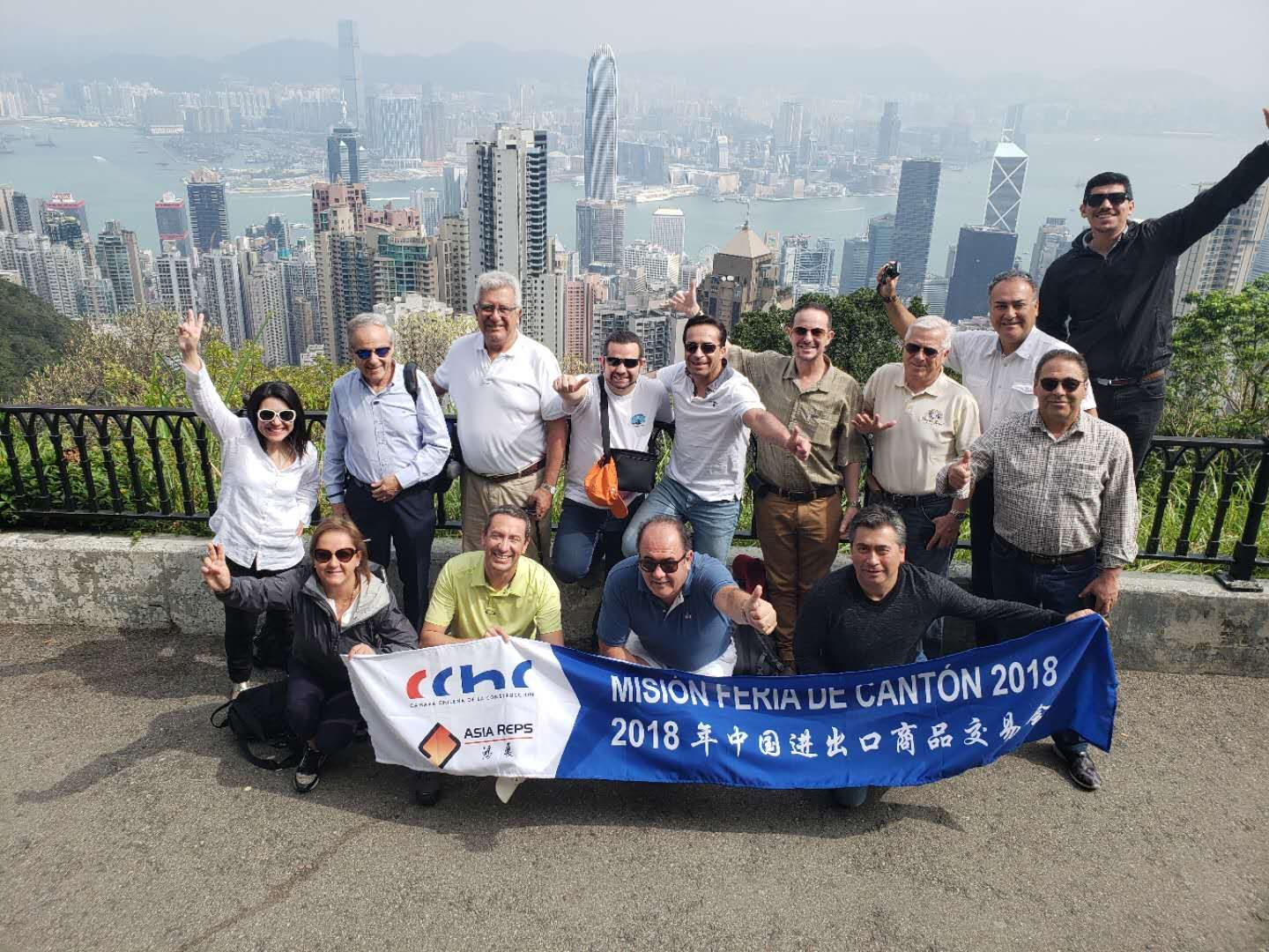 CChC partners travel to China to learn about the latest innovations in construction